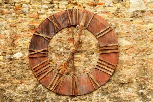 Cathedral wall clock - Zagreb by wildplaces