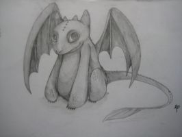 Toothless by latios-and-latias