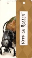 Dung Beetle Bookmark by styx-leagon
