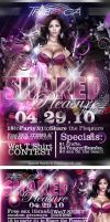 Shared Pleasure Party Flyer by V1sualPoetry