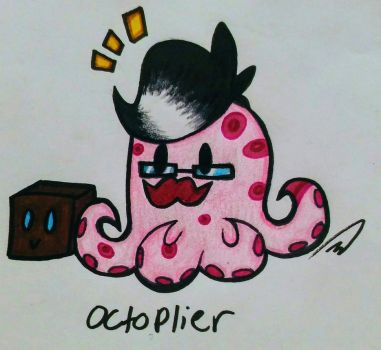 Octoplier by MsDoodleKnight