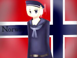 Hetalia - Norway by Lunaticharmed