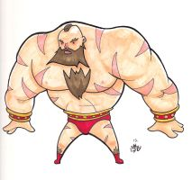 Zangief by xHOJUx