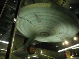 Enterprise View from Below starboard bow by ENT2PRI9SE