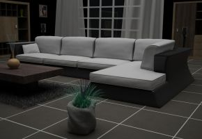 Living Room Concept by zirms