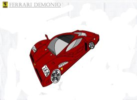 Ferrari Demonio colour demo by CarMadMike