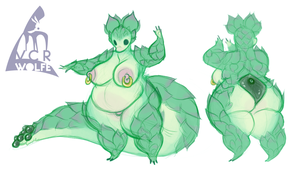 Succulent Tiddy by VCR-WOLFE
