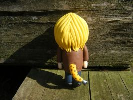 Bryce from Subsapien Polymer Clay Chibi (Back) by LadyElasa