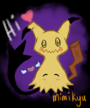 Mimikyu by marshy-monster