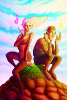 rival elves by Yenga