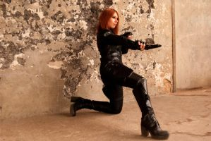Black Widow: looking for trouble? by Fayry-Cosplay