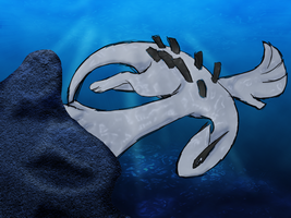 King of the UnderWater - Lugia by sewreel