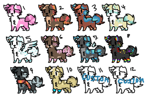 Name the price! Adopts :CLOSED: by Swift-The-KittyAdopt
