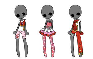 Outfit Adopts OTA CLOSED by Artistic-Mii-Adopts