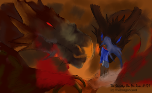 In the Dragon's Flamable Cave by Theoriginaldragongod