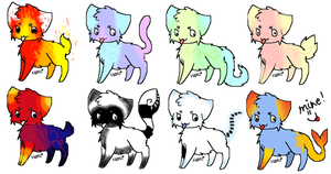 Free Kitty Adopts!!! *Closed* by SierraSweet