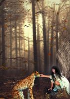 The Angel And Tiger by annemaria48