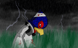 Falco Lombardi - Low on Health by AnimalCreation