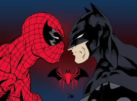 Spider-Man vs. Batman by James Lee Stone by edCOM02