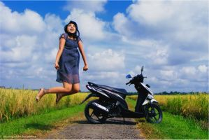 happy with my vario by MusangSeribu