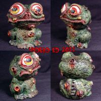 Munny Style Plague Frog Piggy by Undead-Art