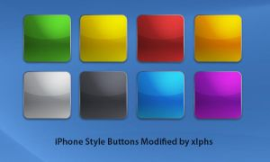 iPhone Style Buttons Modified by xlphs
