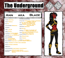 Undergrounds - Blaze by Lady-AnnJoanne