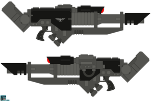 MkVII Mars Pattern Lascannon by leinglo