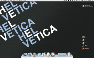Helvetica by lachh