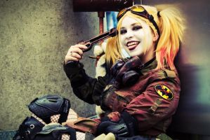 Post Apocalyptic Harley Quinn Comikaze by DiaryofADoll