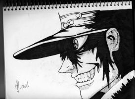 Alucard close up by bubble-blower1991