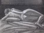 Reclining Nude by Birrueta