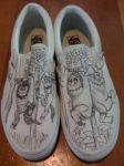 Wild Rumpus Vans by celticlove