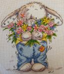 Somebunny to Love Cross Stitch by Tishounette
