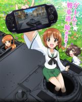 Girls und Panzer PSVista Game by lordsjaak