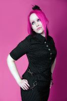 Pinstripe Pink by AssistedSuicide