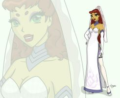 Wedding dress for Vakama3 by elleboe