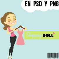 ShoppingDoll by MartuLovatic