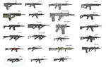 All 23 PMG guns list by Artmarcus
