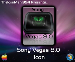 Sony Vegas Dock Icon by TheIconMan1994