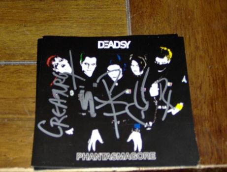 Deadsy Album Signed by cfultz