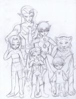 Referencia: Londo Family by ElfyNightmare