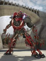 Transformer Render by studentsofcogswell