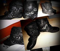 Bvb shoes by ApparitionofNiflheim