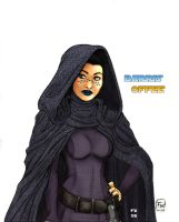 star wars Jedi - Barriss Offee by effix35