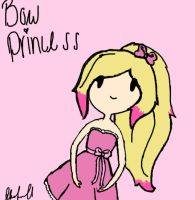 request for the bow princess by Ask-Melanie