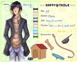 Happy Tails Application: Darcy by Pinepuruu