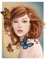 The Butterflies by Cethlenn