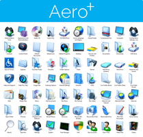Aero+ Iconpack Installer for Windows 8/8.1 by UltimateDesktops