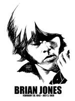 DSS No. 46 - Brian Jones by gothicathedral